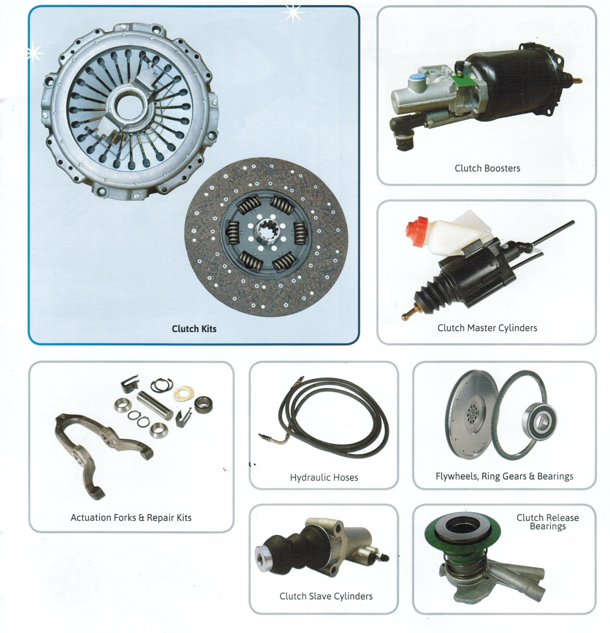 Parts Packages - For all Makes & Models WABCO 2