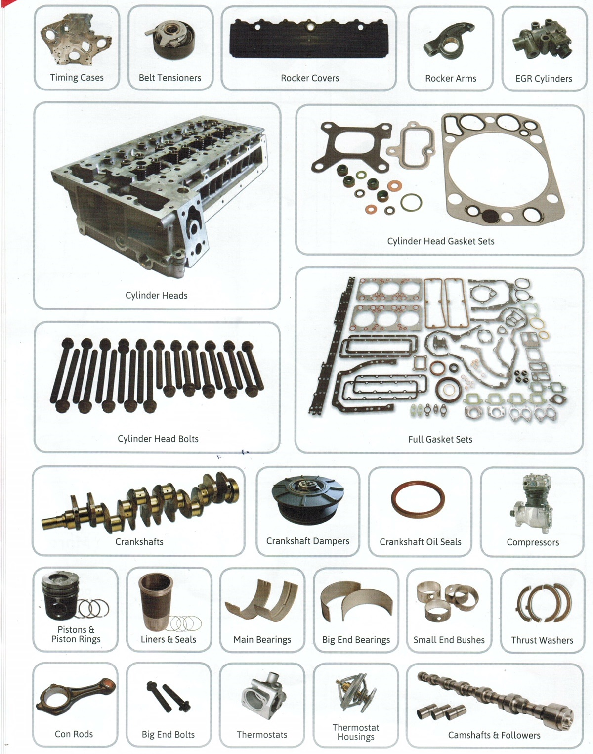 Parts Packages - For all Makes & Models WABCO 3