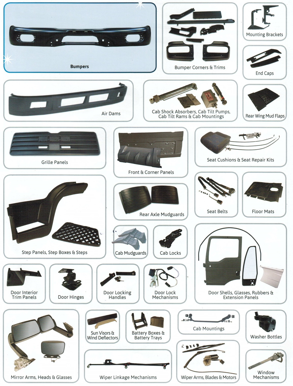 Parts Packages - For all Makes & Models WABCO 6