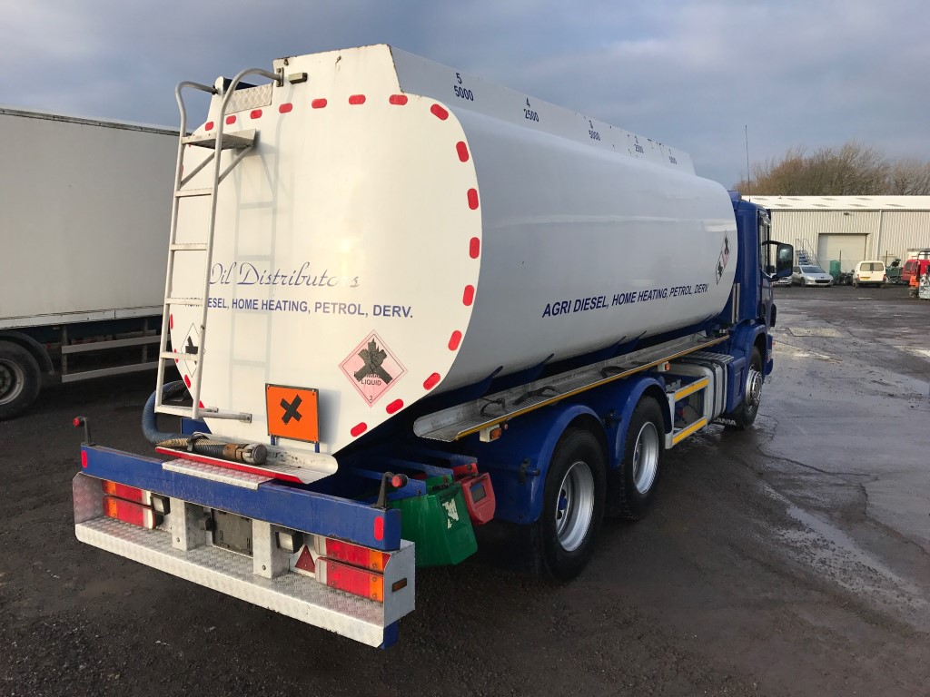 Scania 6x4 Fuel Tanker  3