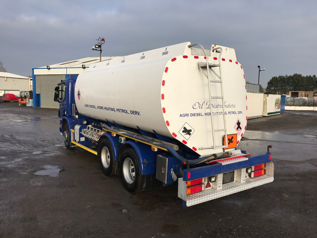 Scania 6x4 Fuel Tanker  4