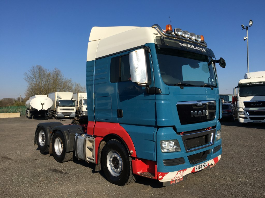 MAN TGX 26.540 6x2 Tag Axle