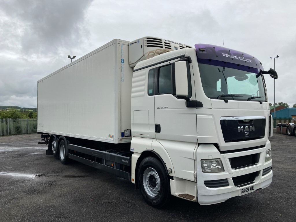 MAN TGX 26.360 XLX Rigid